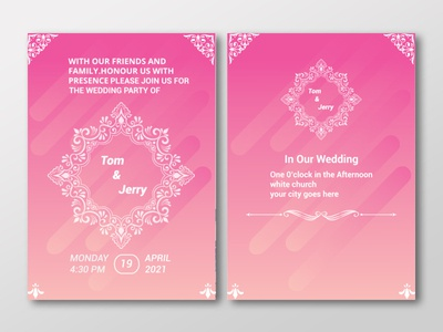 invitation card illustration vector business card flyer design design invitation card