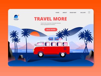 travel web ui