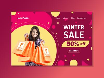 winter sale web ui
