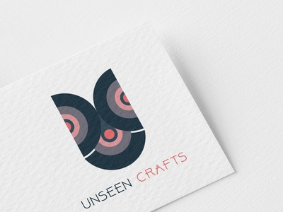 UNSEEN CRAFTS golden ratio branding tranding 2019 bangladesh illustrator logo design logo