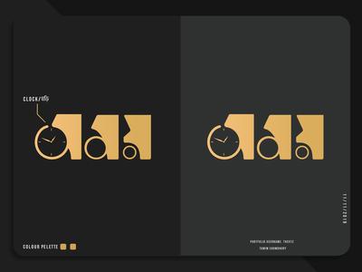 Bangla Typography Time/Somoy