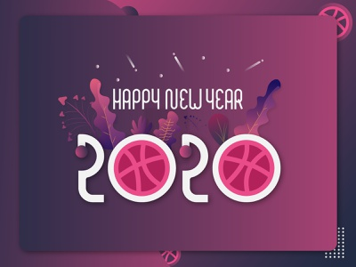 new year poster-2020 simple minimal flat financial web new year poster 2020 trend 2020 new year typography vector design illustration