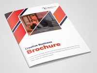 16 Pages Creative Business Brochure Template leaflet booklet abstract design flyer corporate flyer company brochure corporate business company company profile