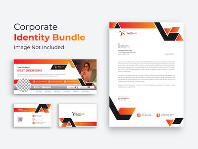 Business Stationary Template minimalist minimal letterhead letter generic formal envelope elegant corporate clean business card business