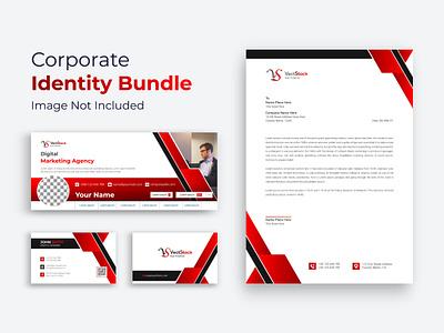 Business Branding Identity Design Red highqulity envelope dvd custom creative corporate identity corporate company clean business card branding brand