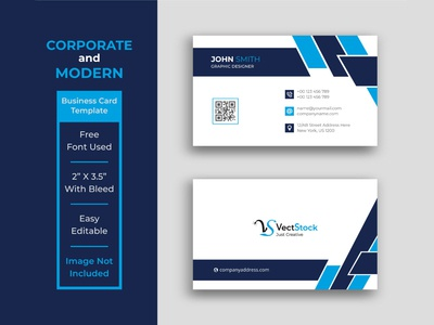 Business Card Template Design creative business card creative cheap business cards business cards white modern corporate company business card business blue