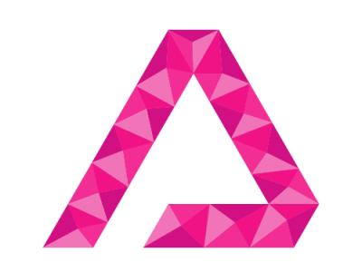 A Letter Logo illustrator minimal design illustration logotype typography vector logo logodesign