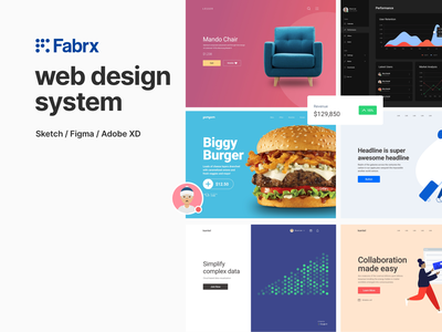 FABRX WEB SALE! layout design ux design ui kit ui  ux design system ux uiux ui design uidesign ui