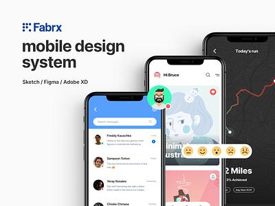 FABRX MOBILE SALE! layout design ui  ux design app ui kit design system uiux ui design uidesign ui