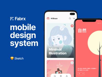 Fabrx Mobile Design System