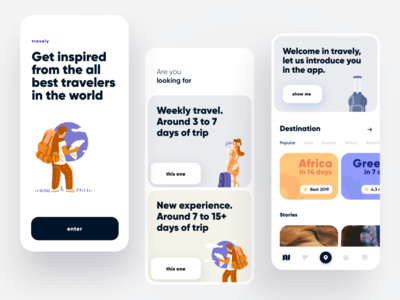 Travel Planning App / Concept