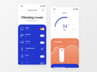 Smart Home Management App / Concept