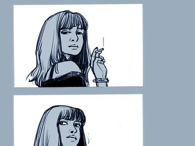 Breakingbad poster ink procreate app procreate characterdesign graphicnovel illustration breaking bad comics