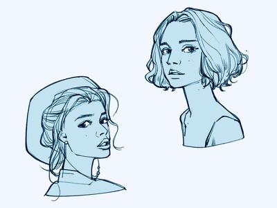 face procreate procreate app inktober inking design characterdesign graphicnovel illustration comics