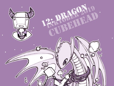 Inktober 12: Dragon