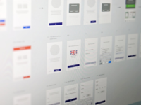 Registration Wireframes