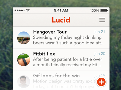 Lucid dairy cream daily iphone moments ios7 happiness list dairy