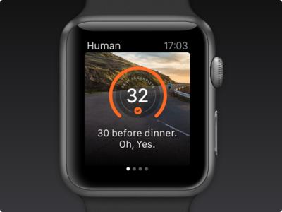 Human for Apple Watch apple watch human activity sport wallpaper daily30 motivation progress