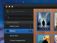 Movies Library Network