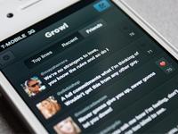 Growl iphone list