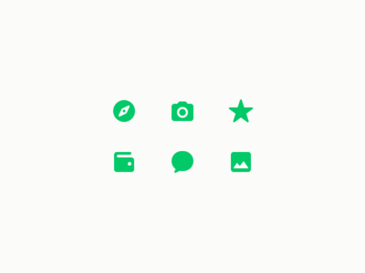 Tabbar Icons for Coinbase Wallet cryptocurrency ethereum toshi coinbase icon favorite camera bubble wallet explore tabbar navigation