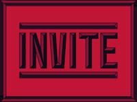 1 Invite for YOU!