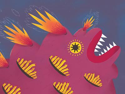 Illustration for a children book picture book primitive naive children kids illustraion childrens book book kidlitart
