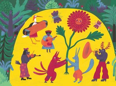 Illustration for a children book