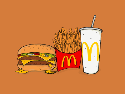 mcdonald's illustration