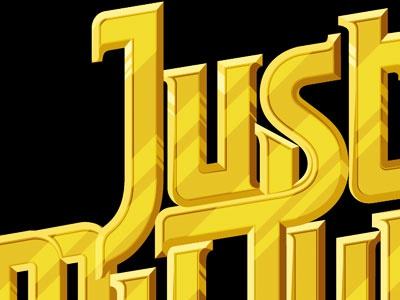 Just My Type justmytype illustration typography lettering design nkeppol vector cubanlinks chain charm thugloving