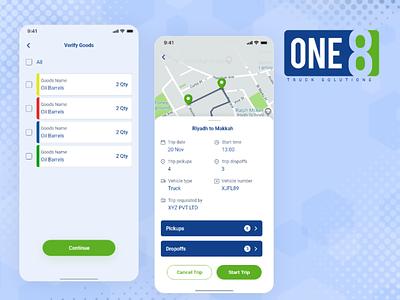 One8- Transportation Management Systems management app management system transportation mobile app development mobile app