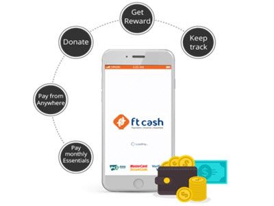 Ft Cash personal finance app utility app