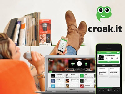 Croak It - Share your sounds in 30 seconds.