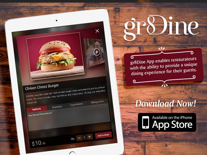 Gr8dine food apps gr8dine app