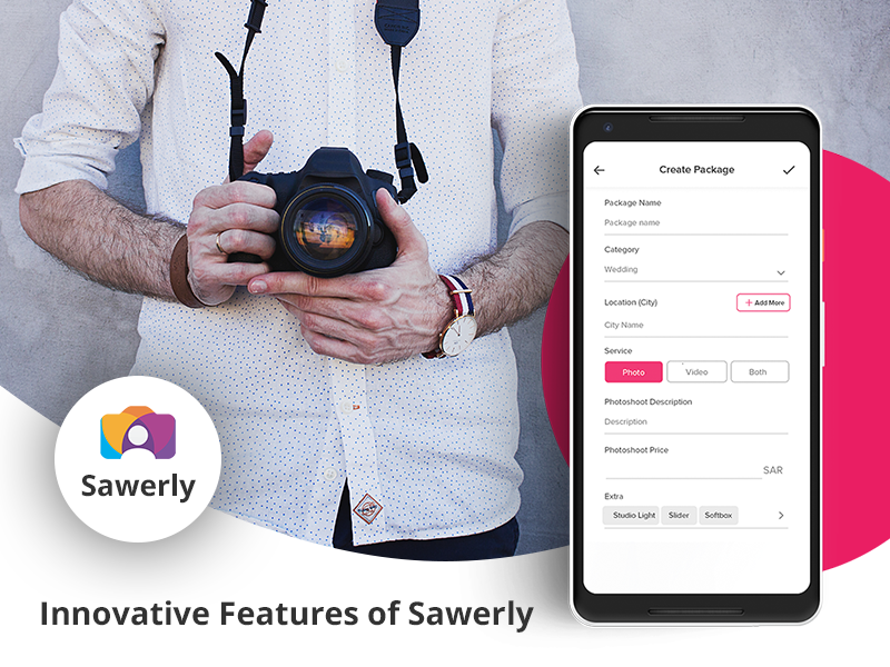 Sawerly App photographer for hire photography app hire photograper sawerly