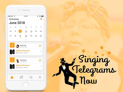 Singingtelegrams telegram mobile app entertainment singing telegram