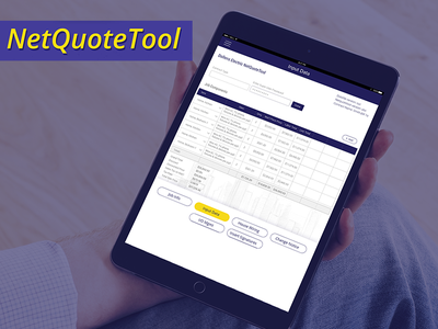 NetQuote: Instant Quotation App ipad app enterprise app quoting app