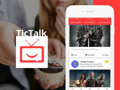Tictalk social networking app mobile app entertainment