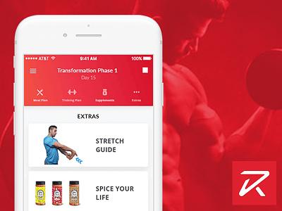 Ryan Spiteri Fitness - Personal Training and Nutrition App mobile app personal training nutrition fitness app