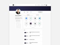 Token Daily Redesign: User Profile