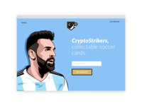 Announcing CryptoStrikers, a collectable soccer-card game