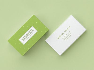 Kunzhut. Business Card Template le-genda free download free gently sweet minimal clean template business card template
