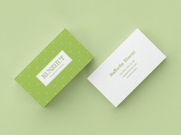 Kunzhut. Business Card Template