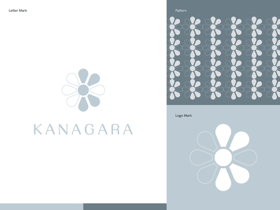 Kanagara Logo logo branding and identity typography personal branding branding visual design creative design visual identity creative direction
