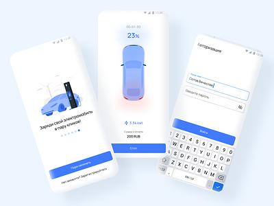 Car Charging App app design mobile design app ux ui tesla car charging car charging app charging station