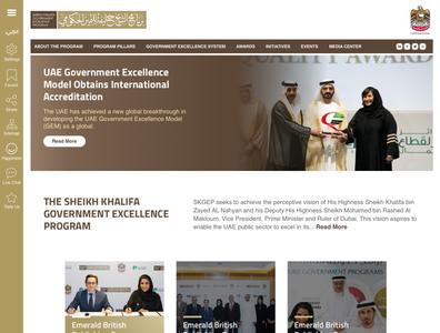 Website Design for SKGEP