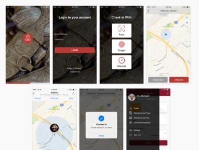 Attendence Mobile App