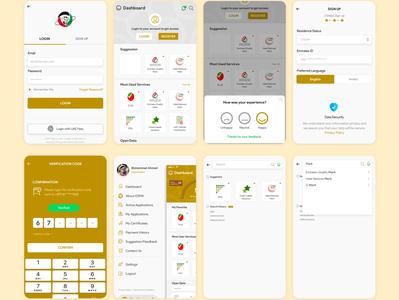 ESMA Mobile App Design