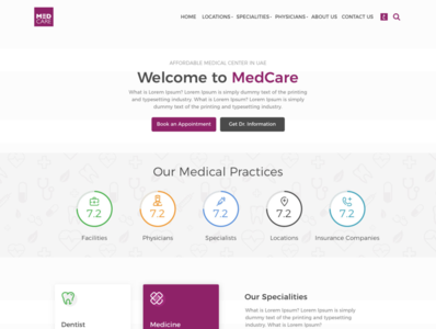 Med Care Concept design
