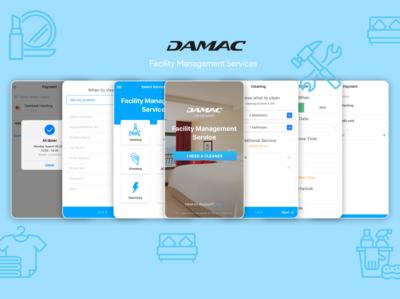 Damac Mobile App Desing